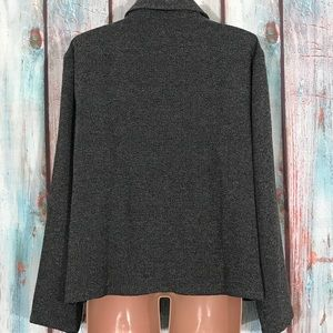 Coldwater Creek Jackets & Coats - 💎 Coldwater Creek Gray Tweed Jacket XL